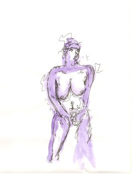 figure drawing 12 by WalterSmelgore