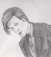 Matt Smith Drawing by Davids-Place