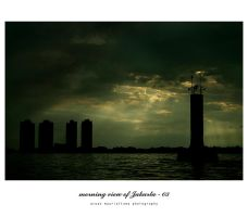 morning view of Jakarta - 03 by idiotgraphic