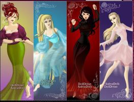 Four Elements: Criminal Minds by DancerGirl16
