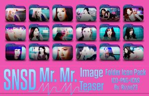 SNSD Mr. Mr. Image Teaser Folder Icon Pack by Rizzie23