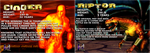 Killer Instinct Gold bios for Cinder and Riptor. by conkeronine