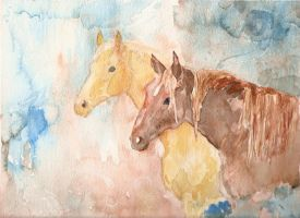 Ether Horses by redwatergr