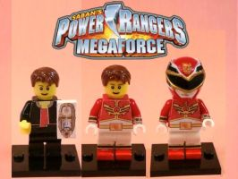 LEGO Power Rangers Megaforce Red by 0yakata