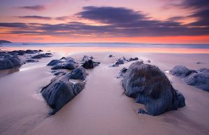 Woolacombe Dusk by Andyw01