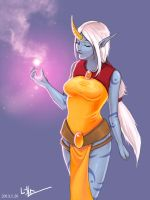 League of Legends - Soraka by kri0921