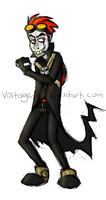 Evil boy genious by Voltage-X