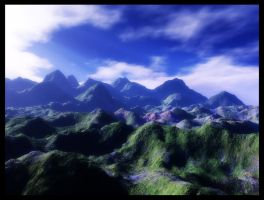 Hills of Antioch stock by ED-resources