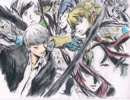 Persona4 Arena~ by samui153