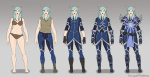 Veressa Windrunner Outfit Breakdown by Ramavatarama