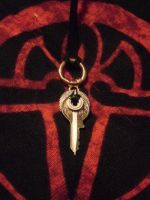 Key and Gear pendant by dcsnijders