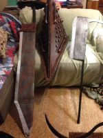props for the SH film version of Red Pyramid by TheDarkAssassin444