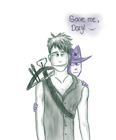 Save me, Daryl ._. by CuteSerialKiller