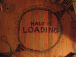 Halo is Loading by Cecilia-Schmitt