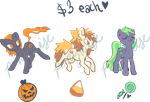 Halloween pony adoptables - CLOSED by ponywise