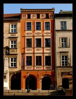 One Of Tenements in Little Square in Cracow by skarzynscy