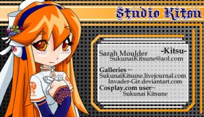 Business card layout by invader-gir