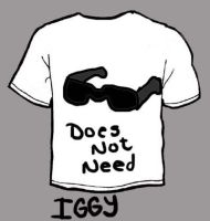 Iggy Merchandise -shirt- by BBallGirl2009