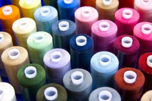 spools of thread by nandiamond