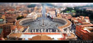 So you want to go to Rome ? by ZeniT-lam3r