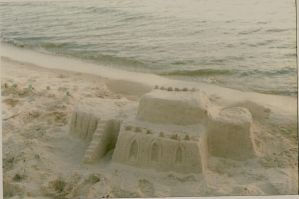 First sand castle by H1ppym4n