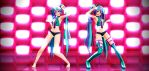 Neon Style TDA Sweet Devil miku 800 watchers gift! by chocosunday
