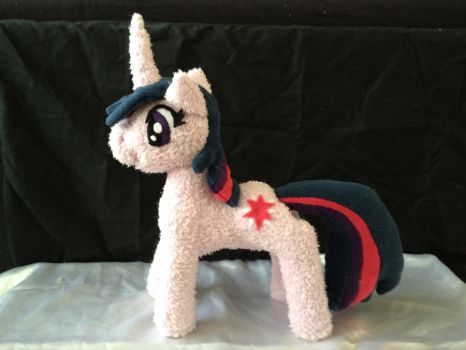 Sparkly Twilight Sparkle Plush by Lieluka