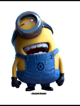 Despicable Me 2 Minions Render by Enabels