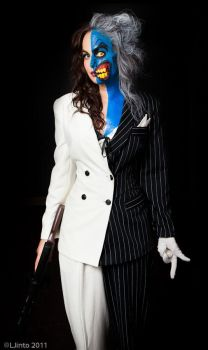 Lady Two-Face 1 by Meagan-Marie