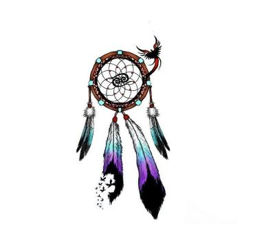 Dreamcatcher Tattoo Design by NeonKitty9