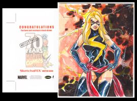 Ms Marvel AP Marvel 70th by AEVU