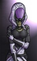 Tali'Zorah Vas Normandy by Ilweran