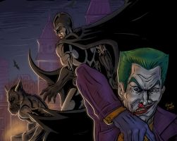 Batman and the Joker by Grant-Leon-Smith