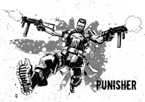 Punisher Jumps by KimJacinto