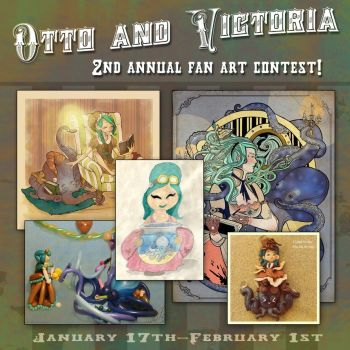 2nd annual fan art contest! by BrianKesinger
