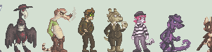 character sprites by Skittycat