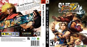 Super Street Fighter 4 PS3 Cov by picklewarrior