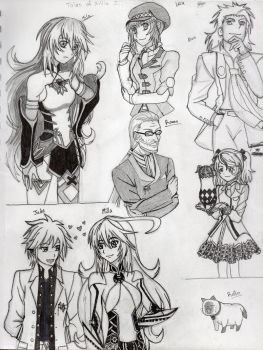 Tales of Xillia 2 Character Page by JessicaSenpai