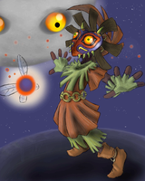 majora's mask by HeavenCharge
