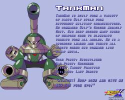 TankMan Data Card by MegaPhilX