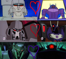 Megatron is always happy to see Shockwave by Omega-Knight01