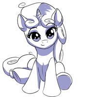 Pony pose challenge #3: Sweetie Belle by MykeGreywolf