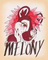 Melony Badge by ThreadandClaws