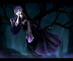 Shaman King OC - In the Lone Woods by XSkyeStarlX