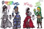 creepypasta inspired outfits by NENEBUBBLEELOVER