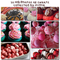 140221. Photopack Sweets collected by Milkie by strawberryminna112