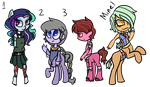 Mixed Adopts (OPEN) by FallenFateAdopts