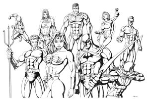 JLA 1 Complete by ESO2001