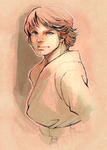 Luke Skywalker by ai-eye