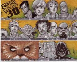 Empire Strikes Back 30th - 06 by JeremyTreece